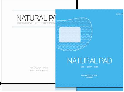 natural pad (weekly)